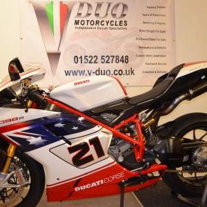 Ducati 1098R-Bayliss LE