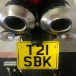 Ducati 1098R-Bayliss LE-No Plate