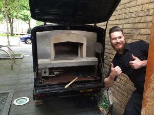 Ape Pizza Oven