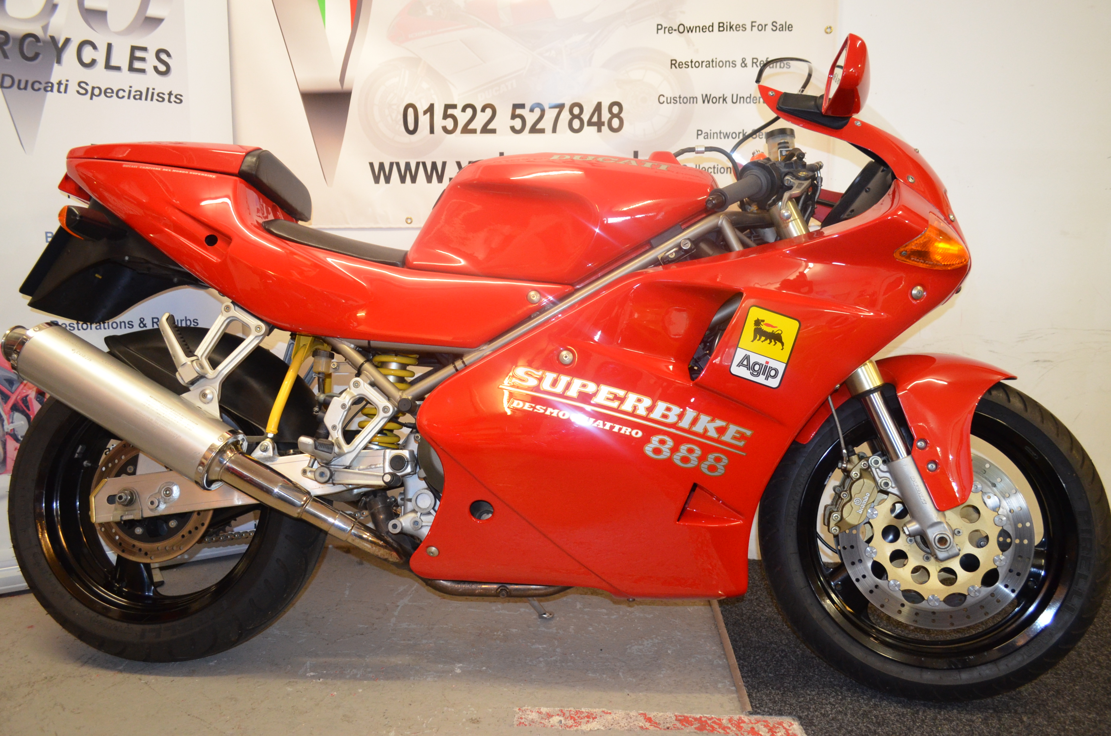 ducati 888 strada   vduo motorcycles