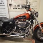 Harley Davidson XL1200c Custom Sportster