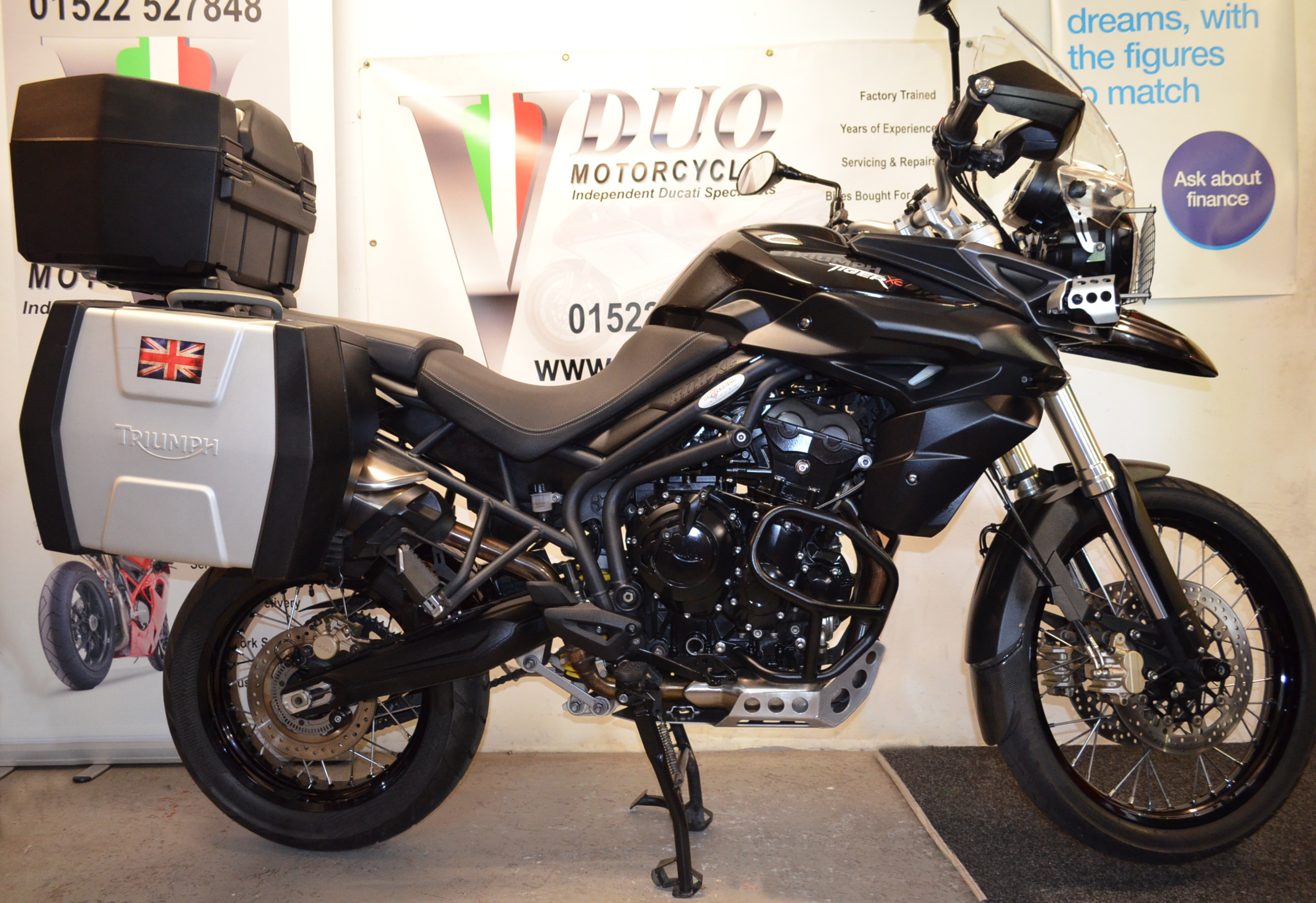 Triumph Tiger 800 Xc Abs Vduo Motorcycles