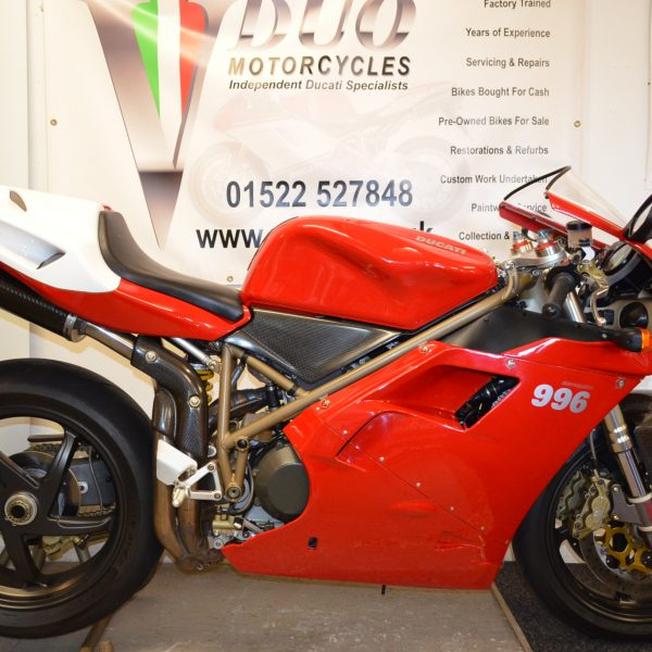 Ducati 996 Sps Just 2 470 Miles Vduo Motorcycles