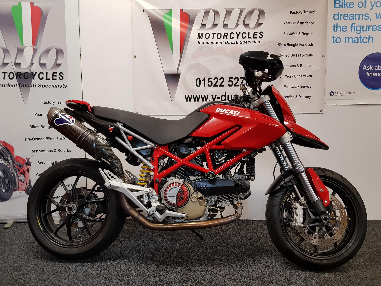 Ducati Hypermotard 1100 – Single Side Termignoni | VDUO Motorcycles